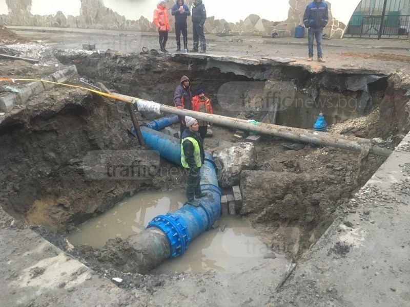 От март: Разкопават 40 улици за 16 милиона лева в Пловдив