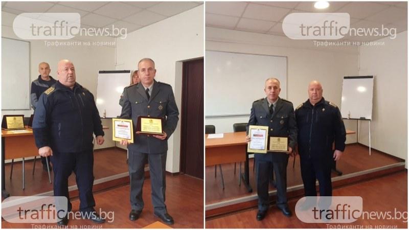 Огнеборец, спасил двореца Кричим, стана пожарникар на годината в Пловдив