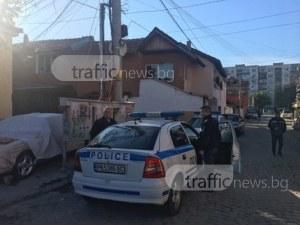Наркоакция в Столипиново! Полицията тараши къща, има арестувани