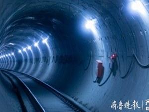 Приключи изграждането на най-дългия подводен жп тунел в Китай