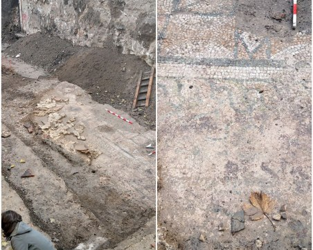 Местят безценната мозайка от центъра на Пловдив в Археологическия музей
