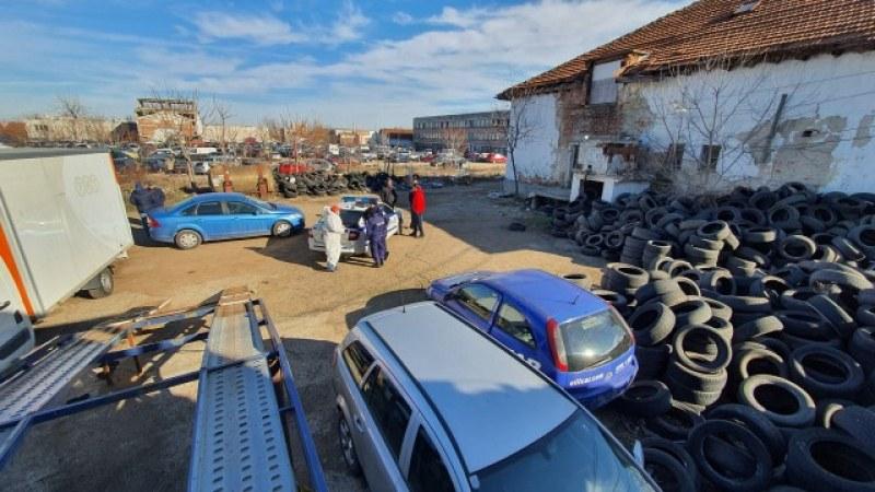 Откриха опасни химикали в бивш завод във Враца