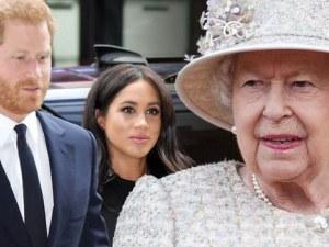 Кралица Елизабет II забрани на Меган Маркъл достъпа до трезора с бижутата
