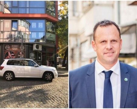 Дерегистрират адв. Атанас Костов от адреса му – взимат му и талона за паркиране