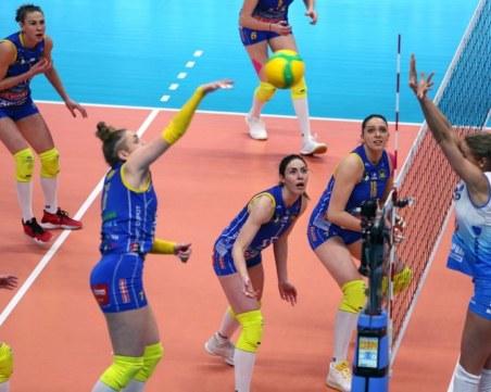 Марица пак пише история! 3:1 над Динамо в Москва!