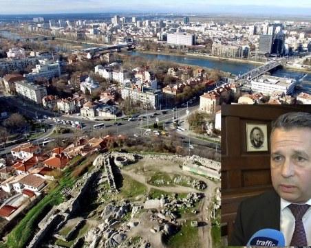 Задръстванията в Пловдив от птичи поглед! Вижте ги