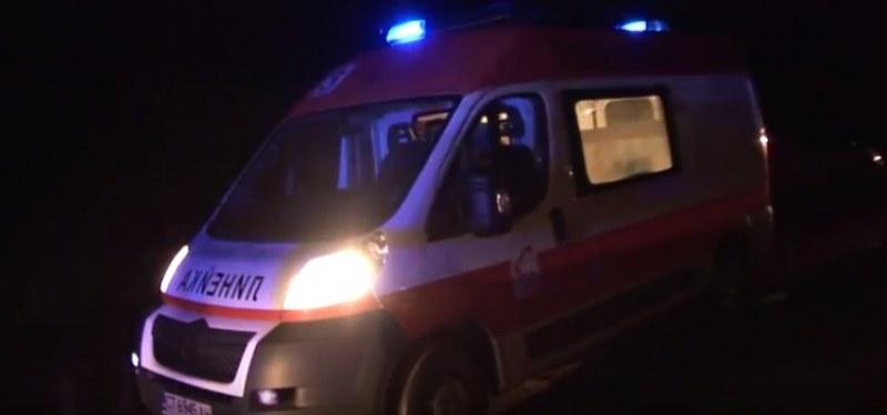 52-годишна жена е пострадала тежко при катастрофата на магистрала