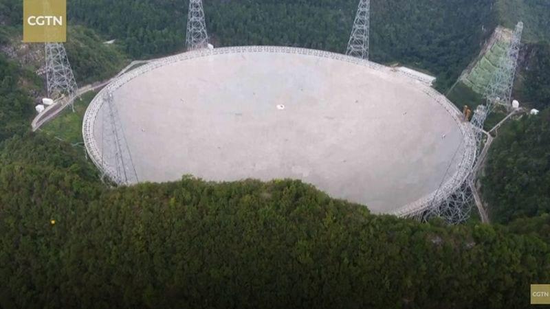 Китай пусна най-големия телескоп в света