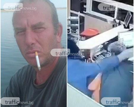 Мъжът с противогаза, стрелял в бензиностанцията в Труд, разследван за 16 кражби!