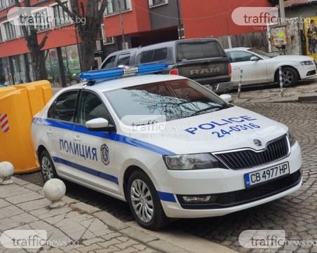 Среднощен екшън в Пловдив! Вандал рита кофи, налита на охранители