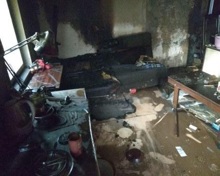 Пожар в къща в Пловдив, загинала е жена