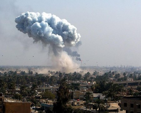 Ракети хвърчат срещу посолството на САЩ в Багдад