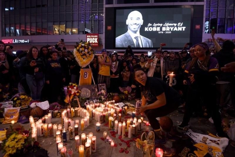 Отложиха дербито на Лос Анджелис заради смъртта на Коби Брайънт