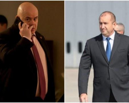 Прокуратурата преустановява контакт с президентството