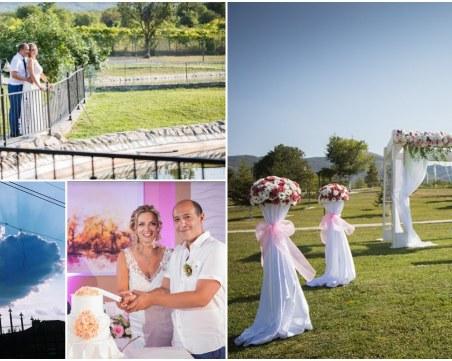 Младоженци избраха райско кътче до Пловдив за своето