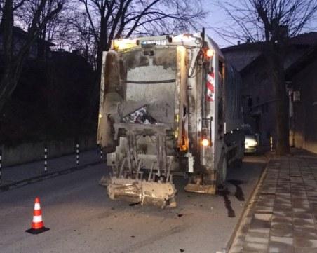 Шофьор блъсна работник от чистотата в Благоевград и избяга