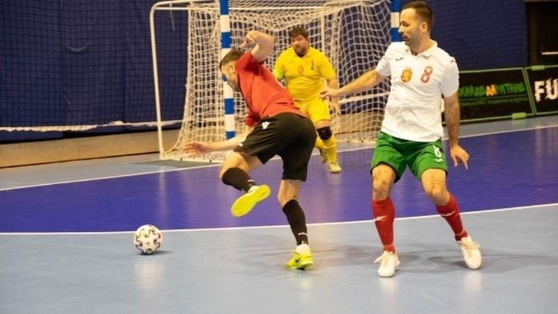 Тежко поражение за България на Европейските квалификации по футзал