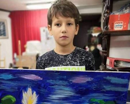 10-годишно момче от Пловдив е голям талант! Показва собствена изложба