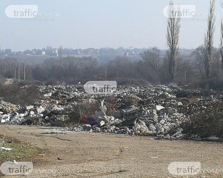 Екокатастрофа край Пловдив! Частен терен се превърна в незаконно сметище