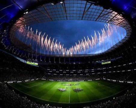 Най-модерният стадион в Англия фаворит за мача Джошуа – Кобрата