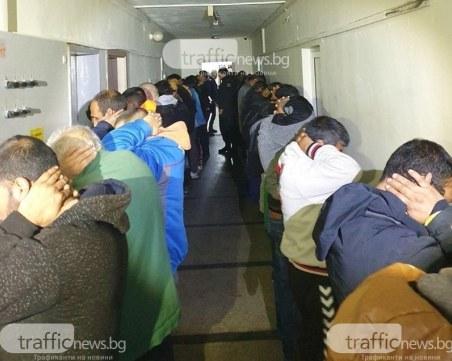Тридесет и трима от задържаните при спецакцията в Розино - с криминални досиета!