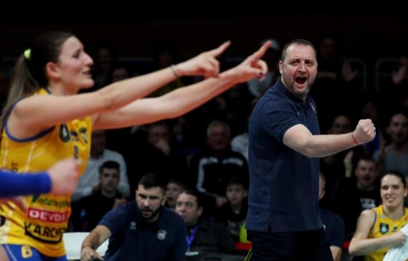 Иван Петков: Марица е различен отбор в Шампионската лига