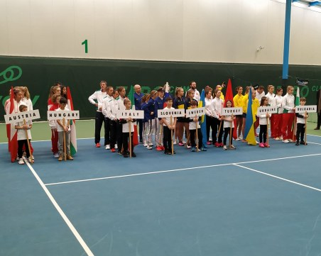 Откриха официално Европейската зимна купа по тенис в Пловдив