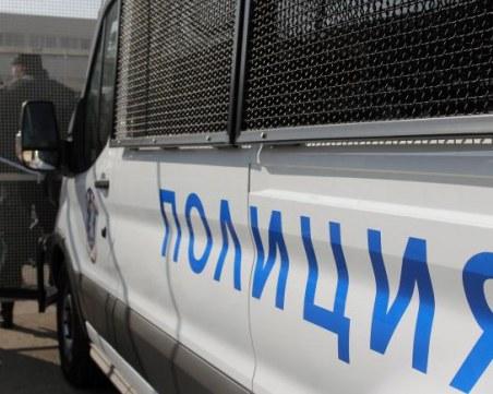 Полиция блокира Бургас, има арестувани