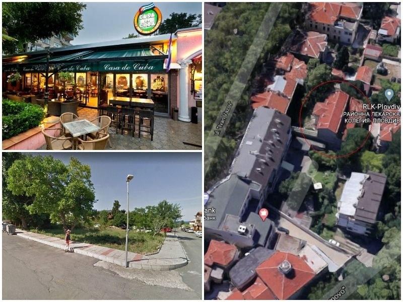 Община Пловдив продава базата си до морето в Лозенец, къща в суперцентъра и земята под Каса де Куба