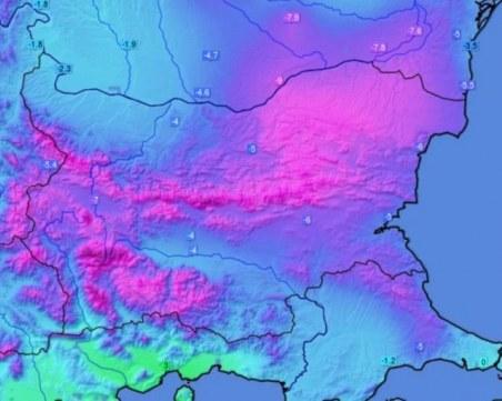 Метеоролози с два модела за времето: Циклон с нов сняг или символични валежи?