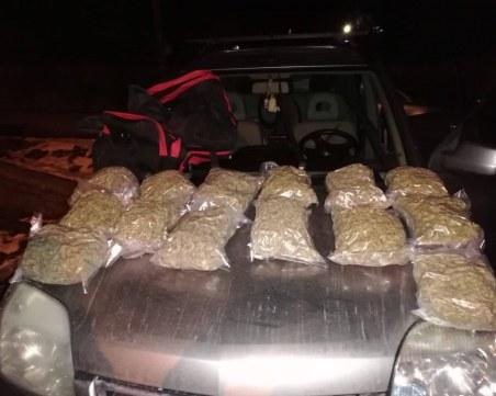 Задържаха 55-годишен мъж с марихуана за над 48 бона