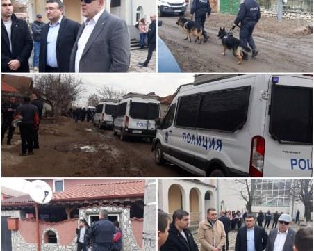 42 задържани при мащабната полицейската акция в Белозем