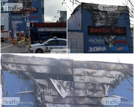 Шест екипа огнеборци са гасили пожара в столичния мол
