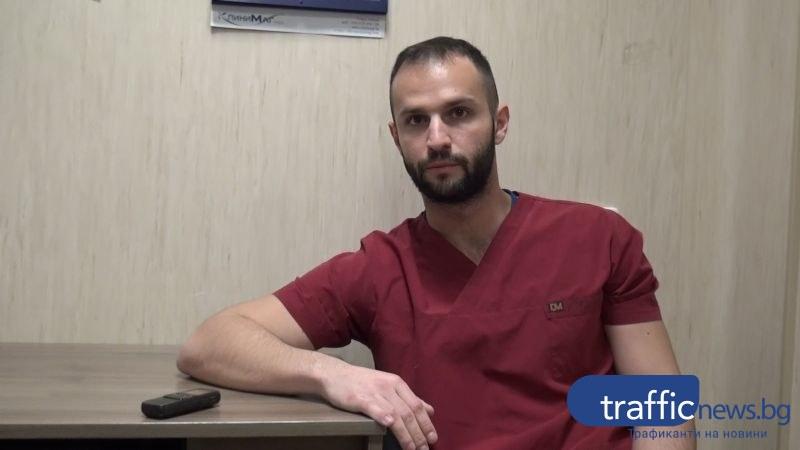 Младите лекари – Д-р Деан Бацелов: Героите на пожара са санитарките, сестрите и огнеборците