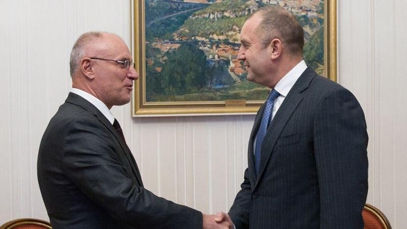 Президентът и управителят на БНБ обсъдиха влизането в еврозоната
