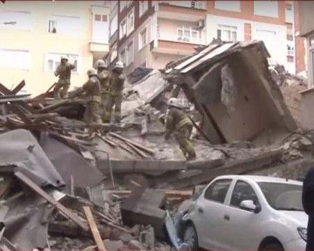 7-етажна сграда се срути в Истанбул