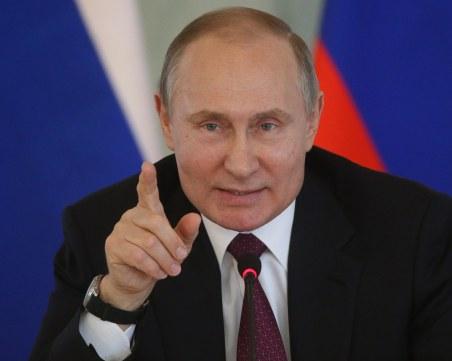 Путин: Русия няма да признае еднополовите бракове, докато съм на власт