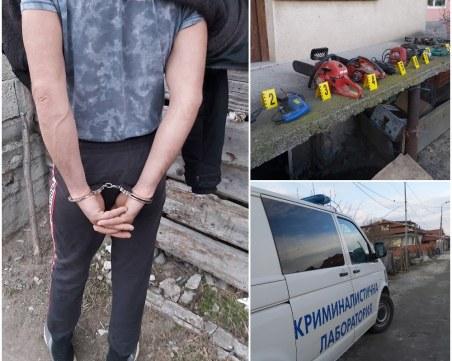 Спецакция край Пазарджик! Разкриха 12 домови кражби, четирима са арестувани