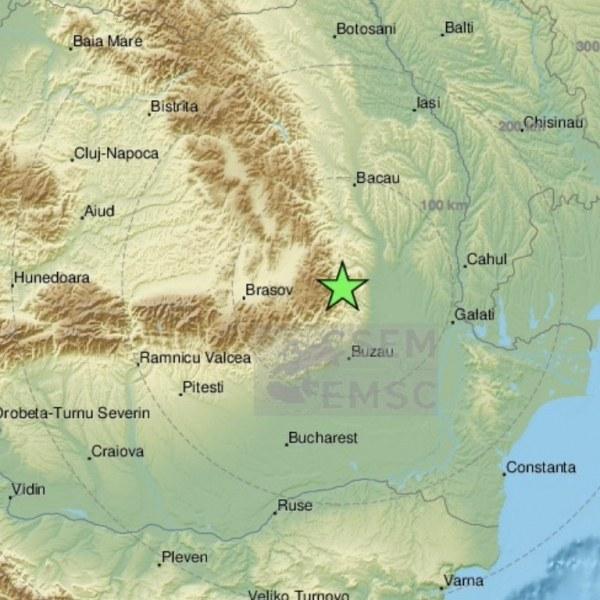 Два труса близо до България