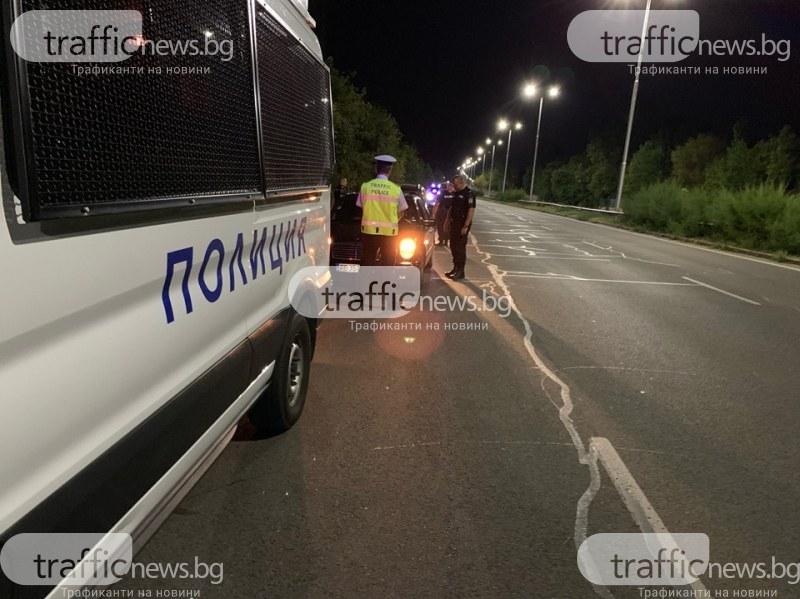 Пиян шофьор си спретна гонка с полицай в Кючука, цели го с бутилки от бира