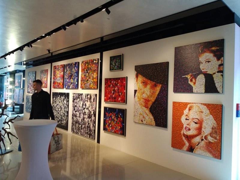 Пловдивски художник редом до Mарк Шагал в изложба в Германия