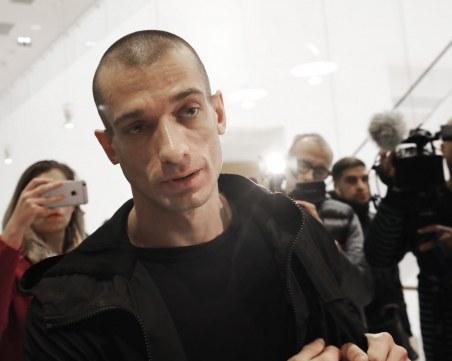 Арестуваха руски художник, пуснал секс компромат в Париж