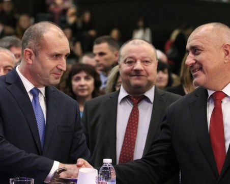 Борисов: Прокуратурата не е място, където да се решават политически препирни
