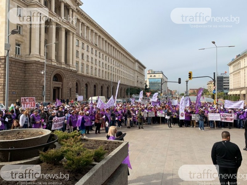 Нов протест на медицинските сестри