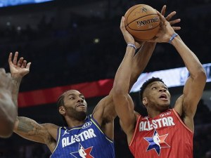 Отборът на ЛеБрон спечели Мача на звездите в НБА