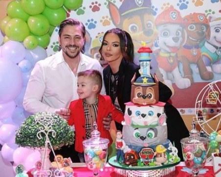 Галена и Галин направиха страхотно парти в чест на малкия им син
