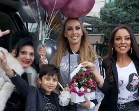Ивана изненада дъщеря си за рождения й ден, трогна с мило послание