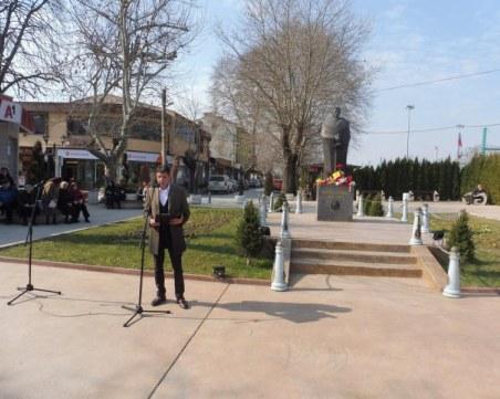 Кметът на Стамболийски: Вярвам, че всеки от нас носи частица от сърцето на Апостола