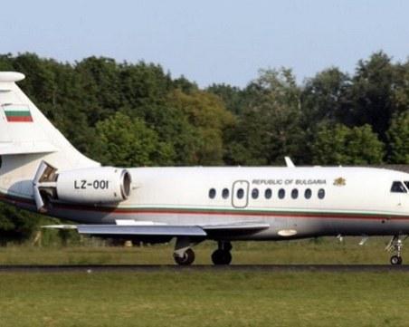 Правителственият самолет пак се счупи