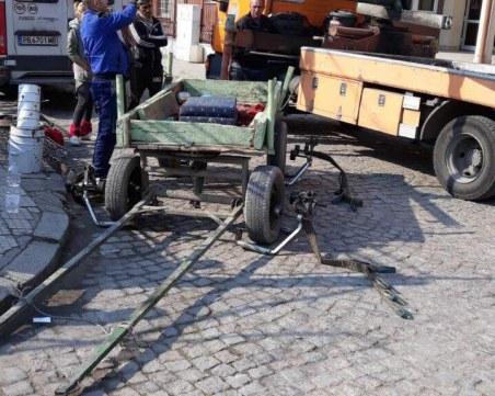 Репатрираха каруца в Пловдив